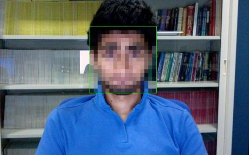 Face anonymisation